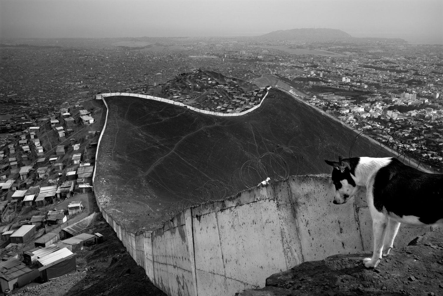 Gael TURINE  // The Wall of Lima -  Peru