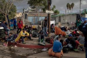 Caravana Migrante, Tijuana