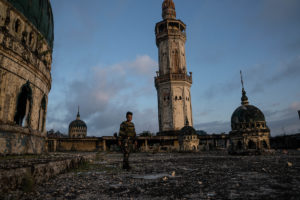 The ruins of Marawi