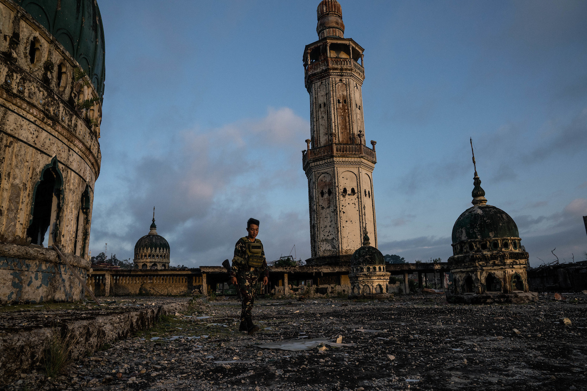 "<a href=""https://www.mapsimages.com/works/the-ruins-of-marawi/"">The ruins of Marawi</a>"