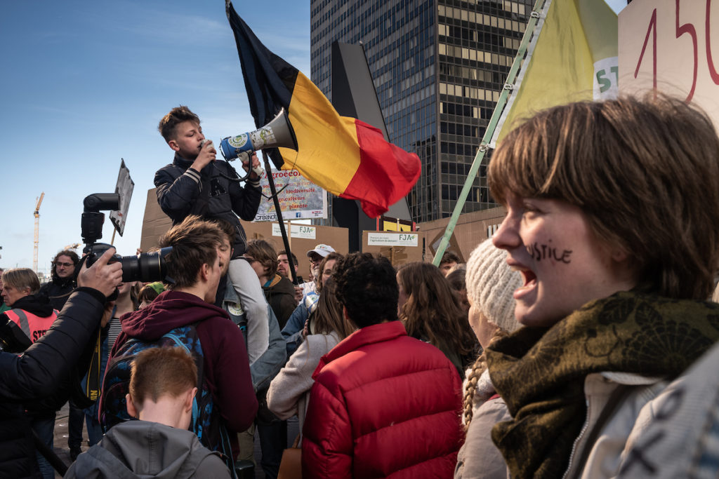 Belgium, youth for climate
