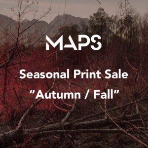MAPS seasonal prints sale
