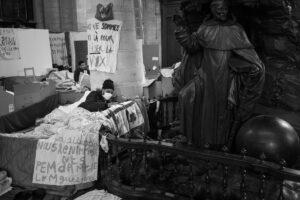'Sans-papiers' movement, Brussels